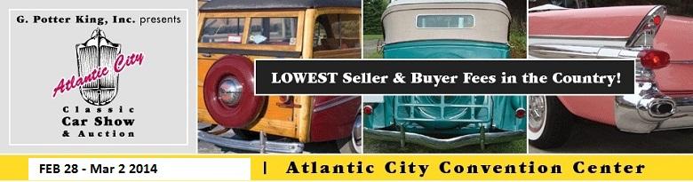 G Potter King Atlantic City Classic Car Auction Atlantic City - Atlantic city classic car show