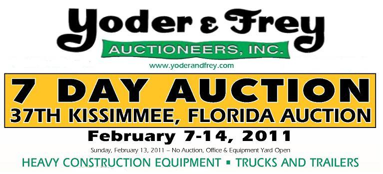 Yoder & Frey Auctioneer's 37th Annual Kissimmee Auction